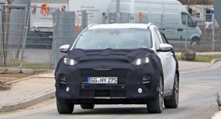Makyajlı Kia Sportage 48V yarı hibrit sistemle gelecek