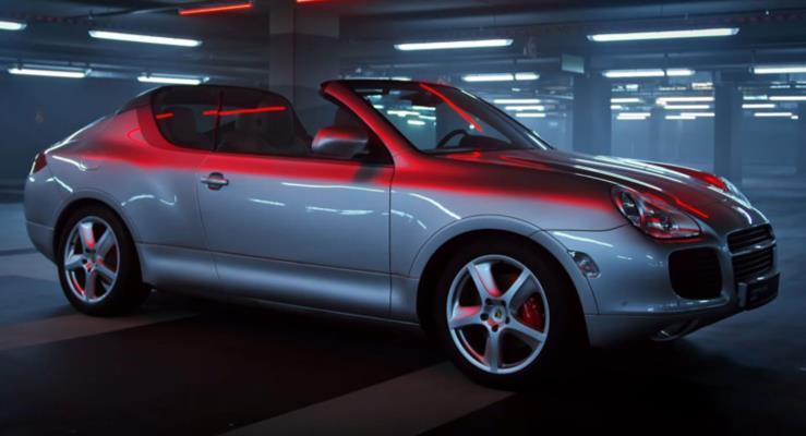 Hiç görmediğiniz Porsche prototipleri bu videoda