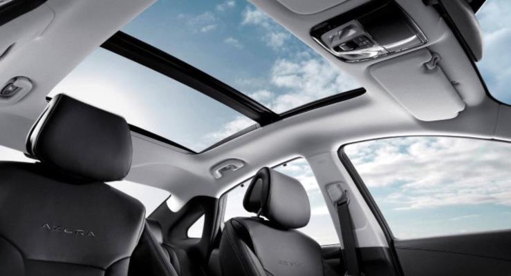 Hyundai'den dünyanın ilk panoramik tepe penceresi hava yastığı