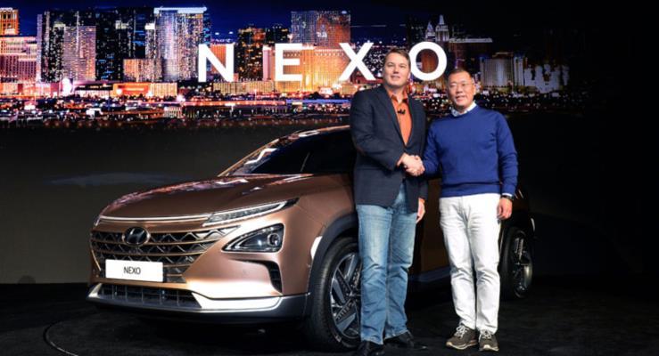 Hyundai'den Yepyeni Bir Fuel Cell Otomobil: NEXO.