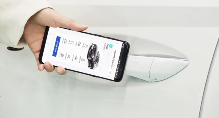 Hyundai, Modellerinde Dijital Anahtar Kulllanmaya Başladı