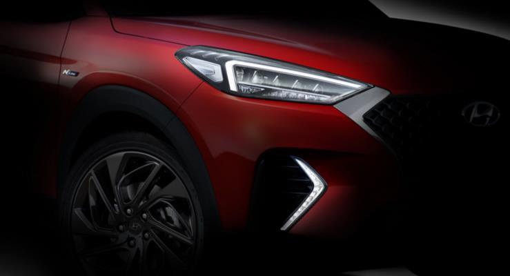 Hyundai Tucson N Line'dan ilk teaser'ı yayınladı