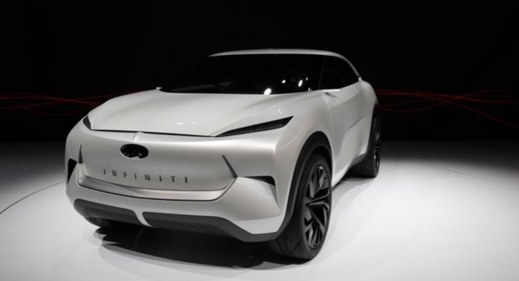 Infiniti'nin yeni elektrikli SUV konsepti: QX Inspiration