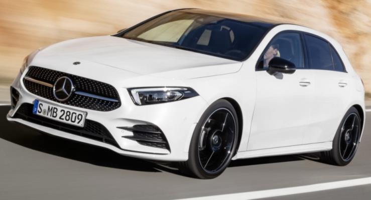 İşte Yeni Kasa Mercedes A Serisi