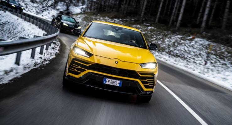 Lamborghini Urus konvoyu LM002 öncülüğünde yollarda