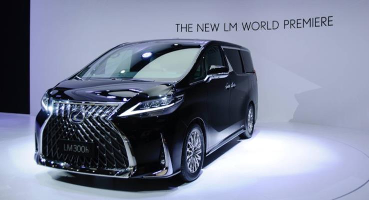 Lexus LM: Çin ve Diğer Asya Piyasaları İçin Yeni Ultra Lüks Minivan