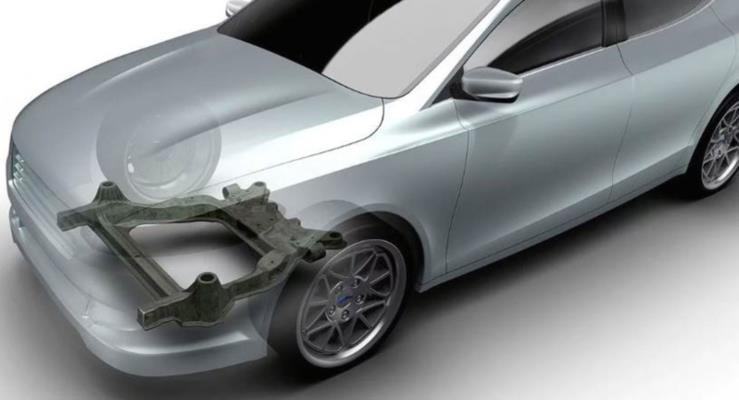 Magna, Ford için karbon fiber alt şasi geliştirdi