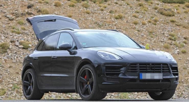 Makyajlı 2018 Porsche Macan görüntülendi