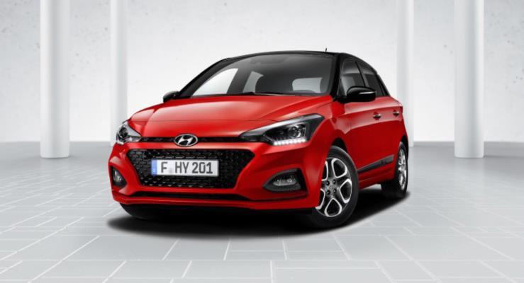 Makyajlı Hyundai i20'nin Üretimi Başladı