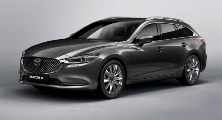 Makyajlı Mazda6 Touring yeni SkyActiv-X motorla geliyor