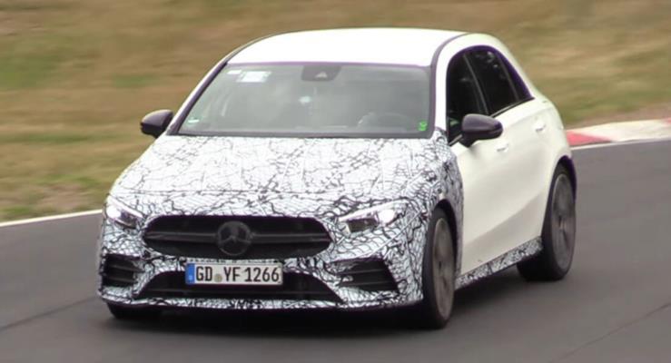 Mercedes-AMG A35 elektrik destekli 300 PS motoruyla Audi S3'e rakip