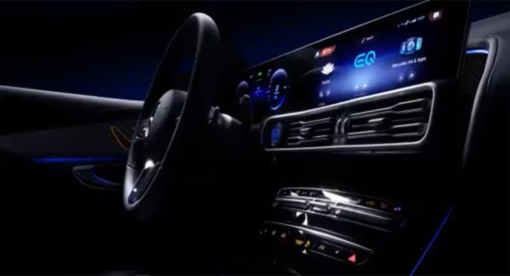 Mercedes-Benz bu kez de EQC'nin iç mekanından görüntüler yayınladı