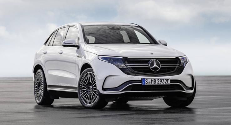 Mercedes-Benz EQC batarya bekliyor