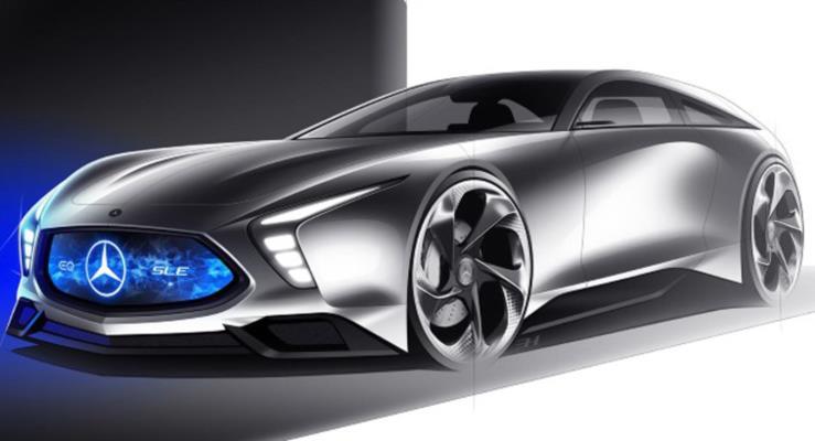 Mercedes-Benz SLE Shooting Brake nasıl görünürdü?