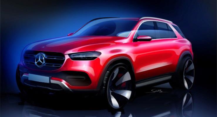 Mercedes-Benz yeni GLE'den çizimler yayınladı