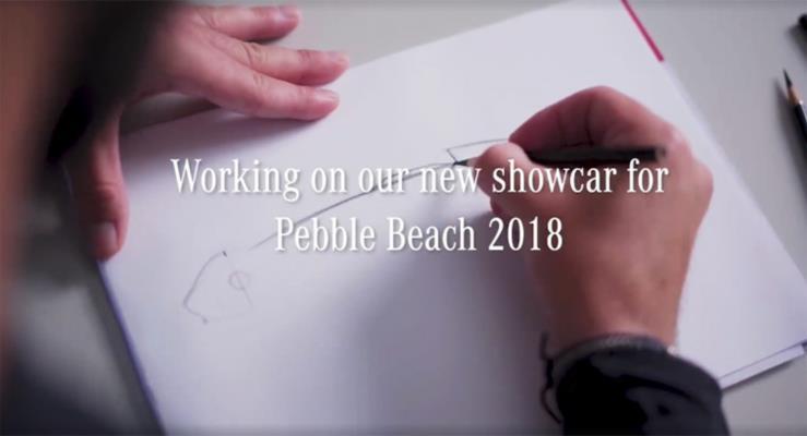 Mercedes Elektrikli Silver Arrow Konseptini Pebble Beach'te Tanıtacak