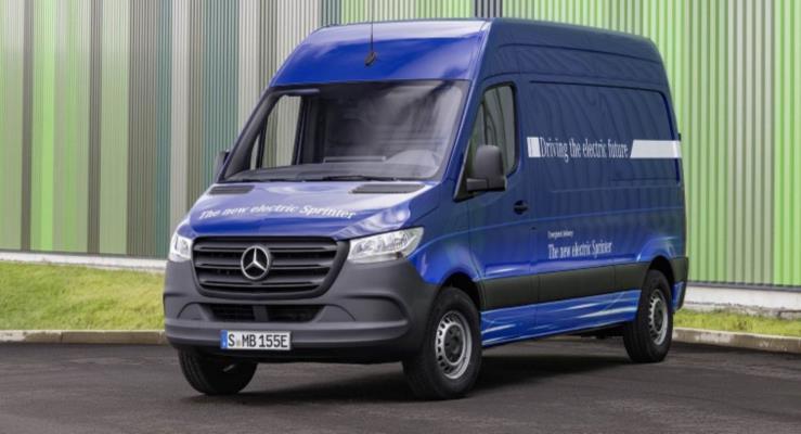 Mercedes eSprinter iki farklı pil seçeneği ve 150 km elektrikli sürüşle geliyor