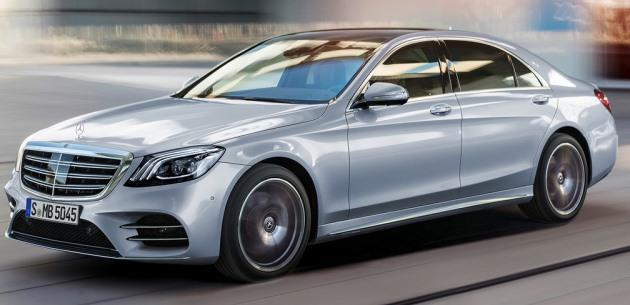 Makyajlı 2018 Mercedes S Serisi Tanıtıldı