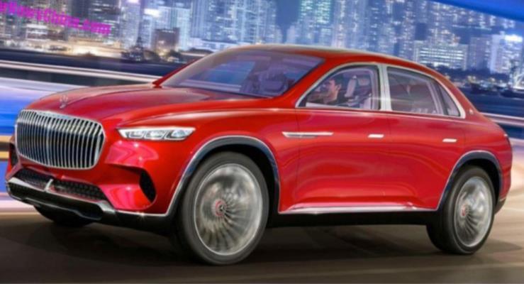 Mercedes-Maybach SUV'den detaylar internete sızdı