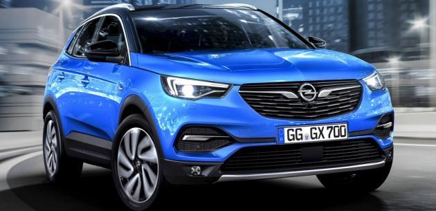 Opel Grandland X Ortaya Çıktı
