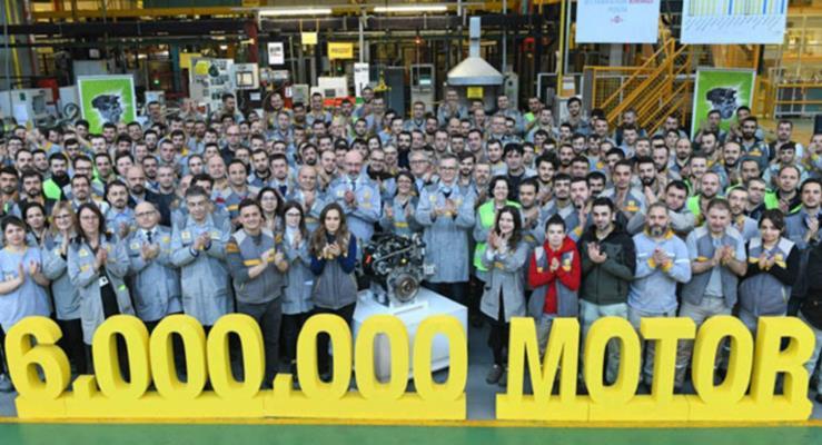 Oyak Renault 6 milyon motor üretti!