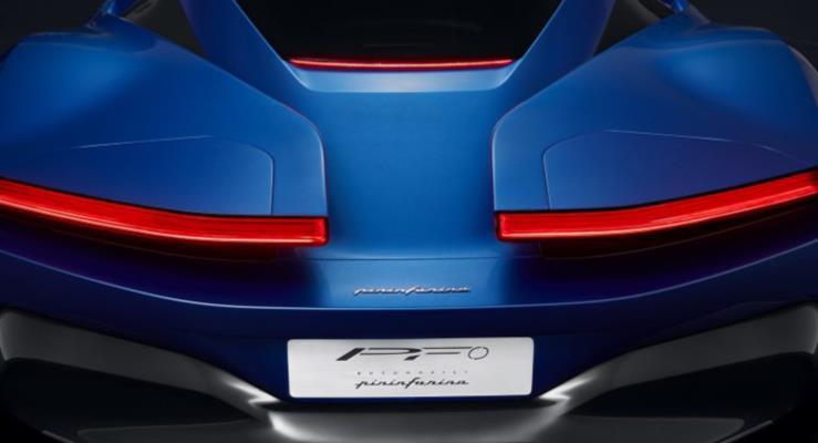 Pininfarina PF0 hiper otomobil konseptinden yeni teaser