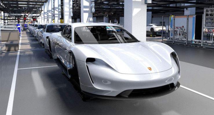 Porsche Taycan Eylül