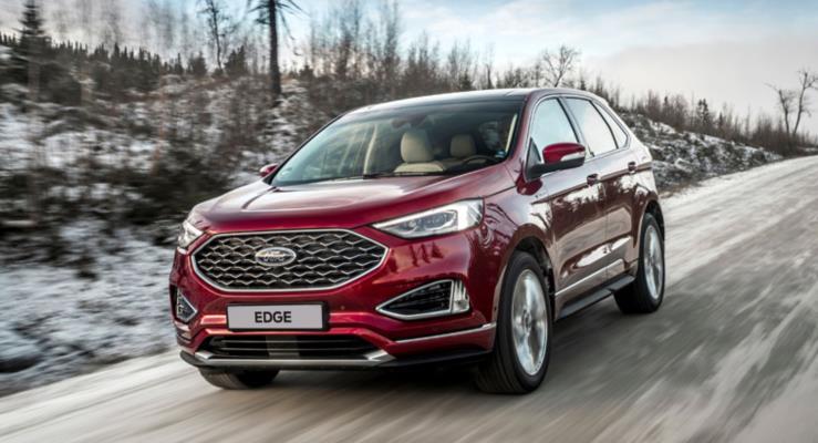 Prestij sahibi ve sportif Yeni Ford Edge daha fazla performans, konfor ve teknoloji sunuyor