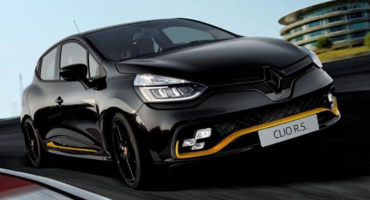 Renault Clio R.S.18 sınırlı versiyon Avrupa'da tanıtıldı