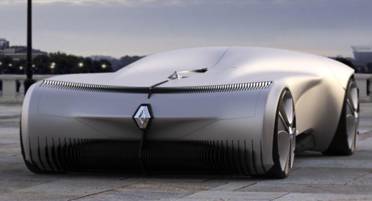 Renault Project XY-2: Dış Dünyaya Kapaı Fütüristik Bir Otomobil Konsepti