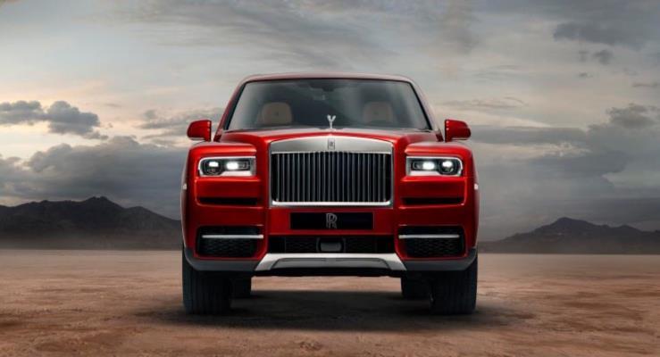 Rolls-Royce elmas Cullinan