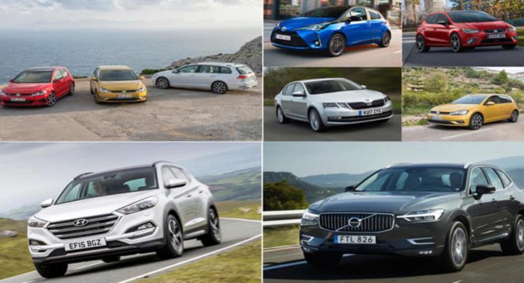 Segment bazında 2018'de Avrupa'nın en popüler otomobilleri