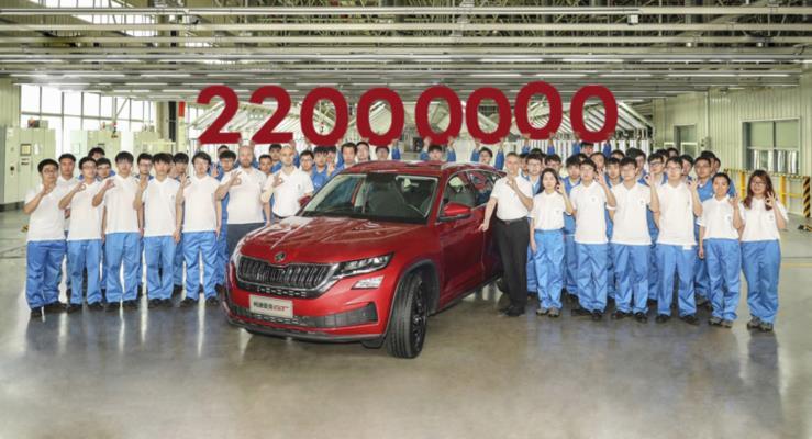 Skoda 22 Milyonuncu Aracını Üreterek Büyümesini Sürdürdü