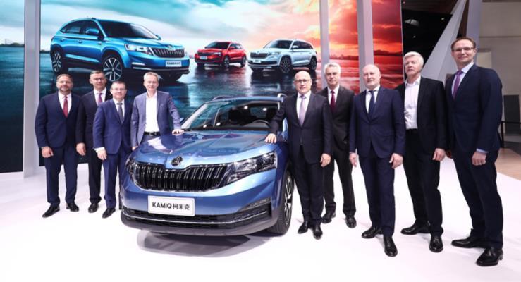 Skoda Kamiq Auto China 2018'in yıldızı oldu