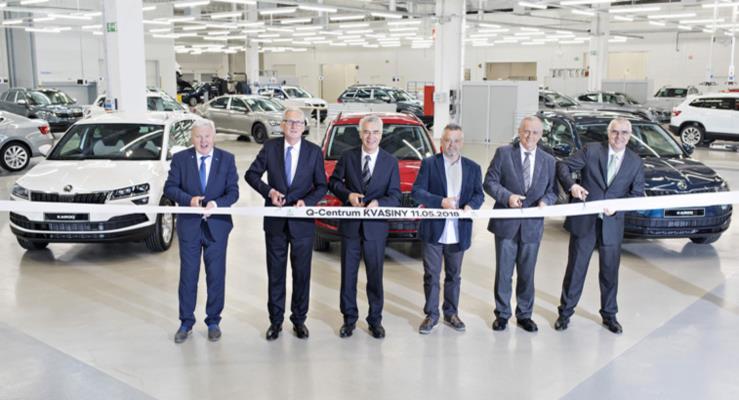 Skoda Kvasiny fabrikasında yeni uzmanlık merkezini açtı