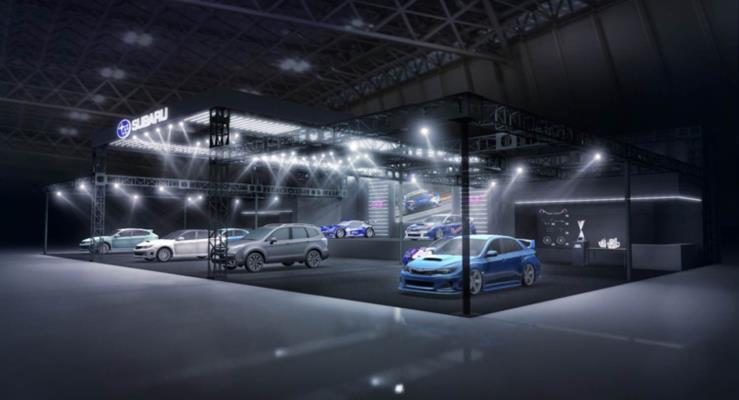 Subaru Forester ve Impreza STI konseptleri gelecek ay çıkacak