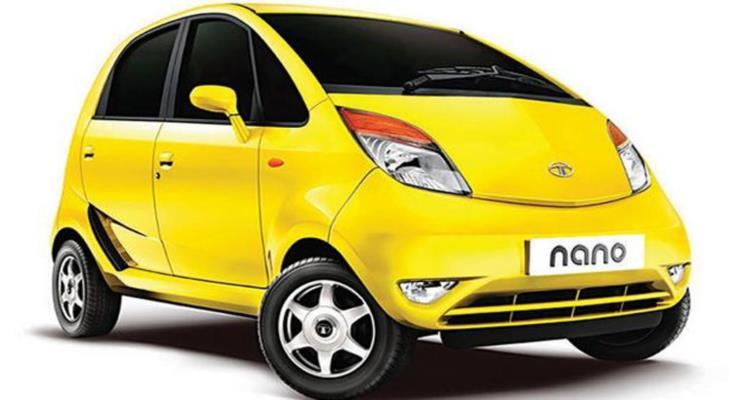 Tata Nano modeline son veriyor