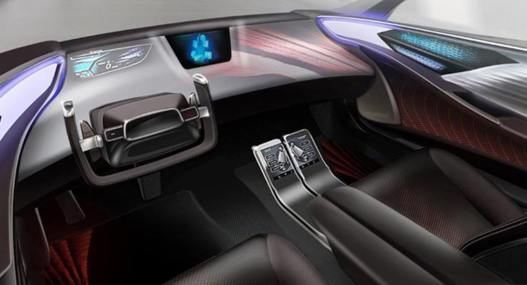 Toyota'nın otonom araçlarının içi böyle görünecek