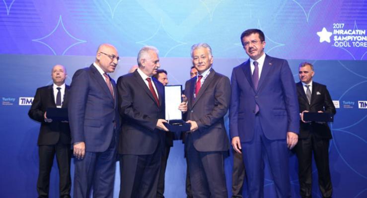 Toyota Otomotiv Sanayi, Türkiye İhracatçılar Meclisi tarafından ödüllendirildi