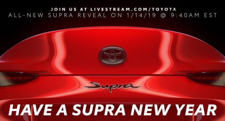 Toyota Supra'dan bir teaser daha geldi