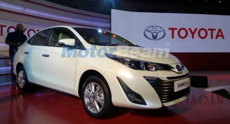 Toyota Yaris sedan Hindistan'da tanıtıldı