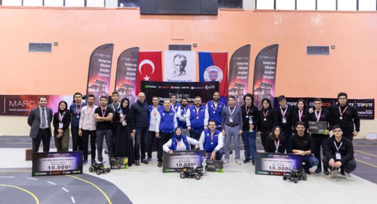 Türkiye'nin ilk mini otonom araç yarışması olan Open Zeka MARC, bu yıl da Bosch'un sponsorluğunda gerçekleşti