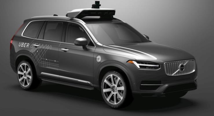 Uber'in otonom prototipleri yeniden yollarda