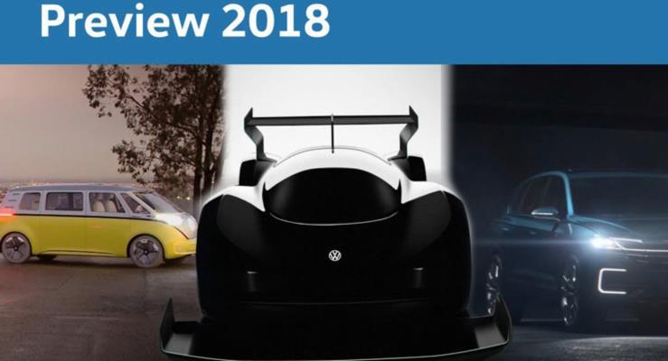 Volkswagen 2018 ürün planlarını video ile duyurdu