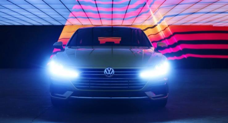 Volkswagen Arteon ABD lansmanı öncesinde poz verdi