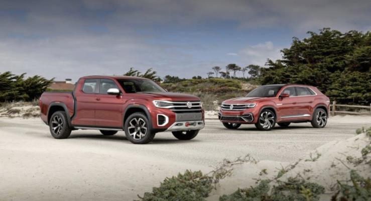 Volkswagen Atlas Tanoak konsepti üretime geçirilebilir