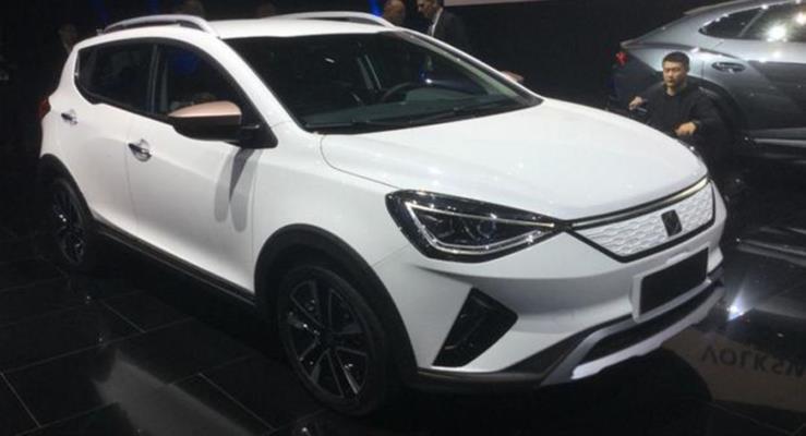 Volkswagen Çin'de Sol elektrikli crossover otomobilin üretimine başlıyor