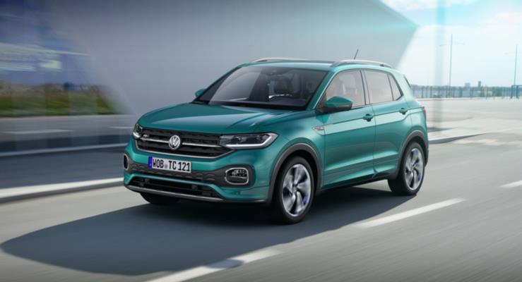 Volkswagen'in en küçük ve en ucuz SUV'si yeni 2019 T-Cross çıktı