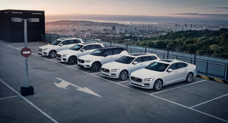 Volvo 2018'de de rekor kırdı, 600 bin eşiğini geçti
