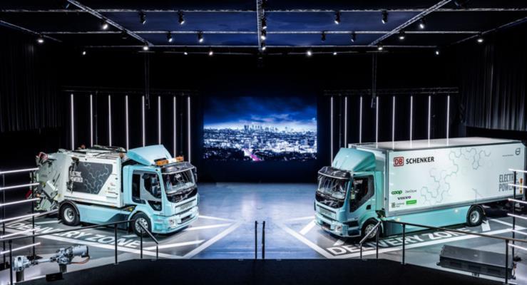 Volvo elektrikli ağır ticari araçların teslimatına başladı!